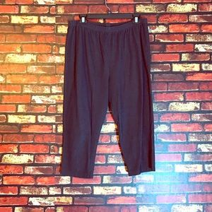 2X Faded Glory Cropped Jeggings